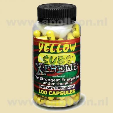 Yellow Subs Xtreme 100 caps