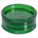 Acrylic Weed Grinder, 2pc, green