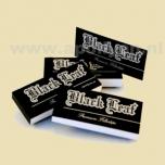 Black Leaf Perforated Filter Tips