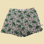 Boxer Short Weed Sky High Grey