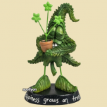 Cannabuds Grow Happiness Figurine