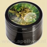 Grinder Black Leaf Weed (4-delig)