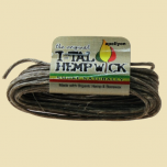 Hemp Wick I-Tal Large