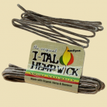 Hemp Wick I-Tal Small
