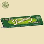 Hennep Vloei Smoking Green King Size