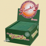 Hennep Vloei Smoking Green King Size Box