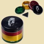 Rasta Grinder Crusher Bob Marley 4 part 50mm