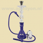 Shisha Alexandria 1 Slang Blauw 58cm
