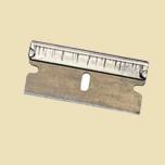 Silver razor-blade