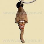 Keychain Funguy Funny Mushroom