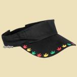 Sun Blocker Marijuana Leaf